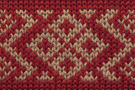 Knitted fabric texture closeup 版權商用圖片