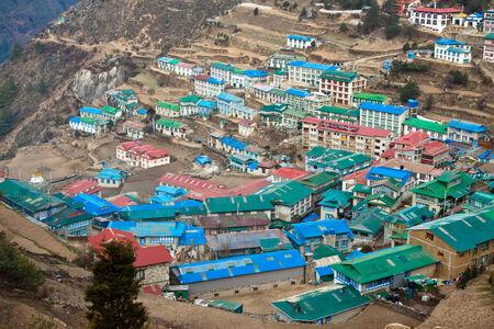 Namche Bazar. Himalayas. Nepal