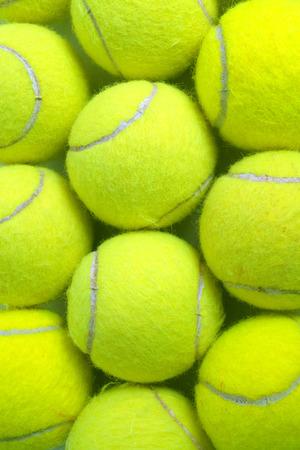 Tennis balls Archivio Fotografico