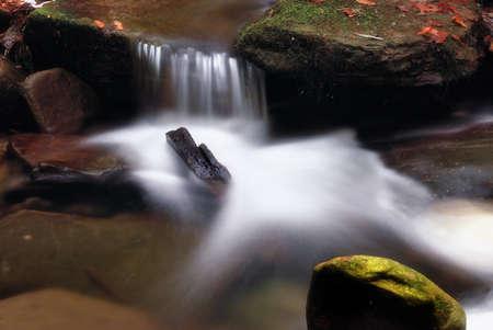 soft waterfall Stock Photo - 8285581