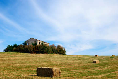 ancient house under summer sky Stock Photo - 8447560