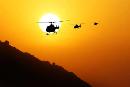 spring training: helicopters to return from the mission