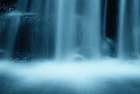 fresh water create soft fog photo