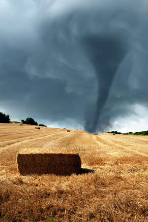 cool twister over the countryside
