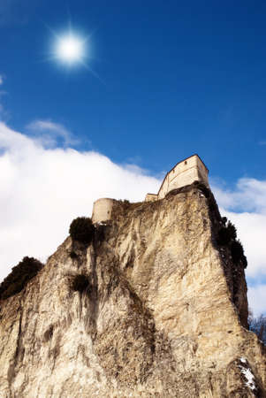 isolated castle on the mountain Stock Photo - 9319627