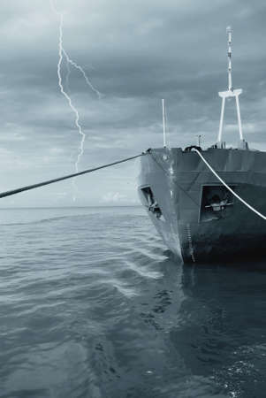merchant ship to shelter from the storm photo
