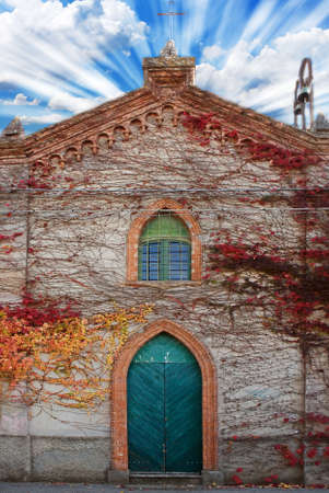 old gothic church door Stock Photo - 9701813
