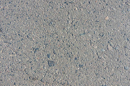Dry asphalt cover on the road in the summer Stock Photo