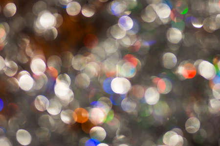 hristmas: Very beautiful silver colored blur background texture Stock Photo