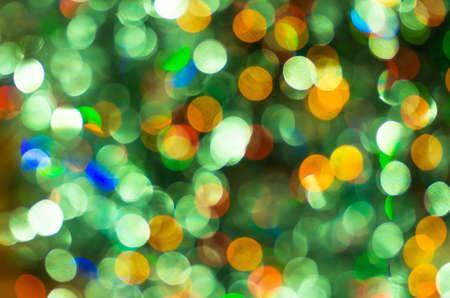 green christmas lights: beautiful colorful green Christmas lights Christmas Background Stock Photo