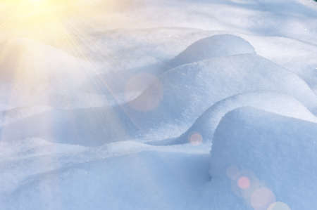 drifts: Drifts of the fresh fluffy snow fell on Christmas Eve. Natural winter background