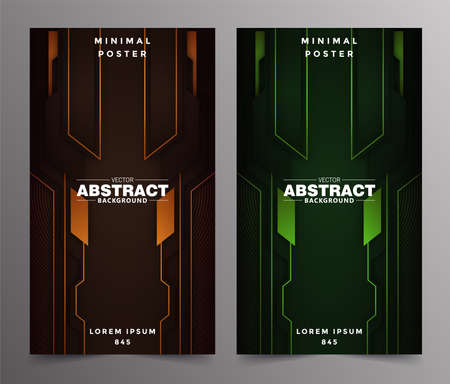 Abstract technology includes minimal luxury design Vecteurs