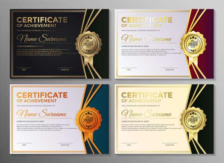会员证书最佳奖学文凭组。