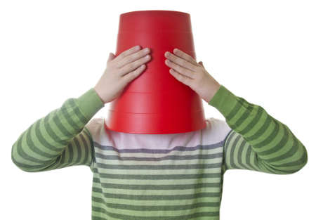 consequence: Rubbish bin � hat Stock Photo