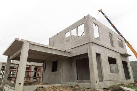 La struttura dell'edificio sono realizzati con pezzi system.All prefabbricazione sono realizzati da alta resistenza concrete.Then assemblati in un edificio.
