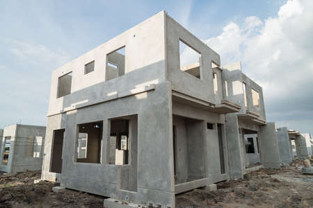prefabricated building: The  building structure are made from prefabrication system.All pieces are made from high-strength concrete.Then assembled into a building.