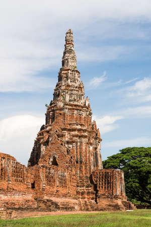 Wat Chaiwatthanaram is a Buddhist temple in the city of Ayutthaya Historical Park, Thailand.