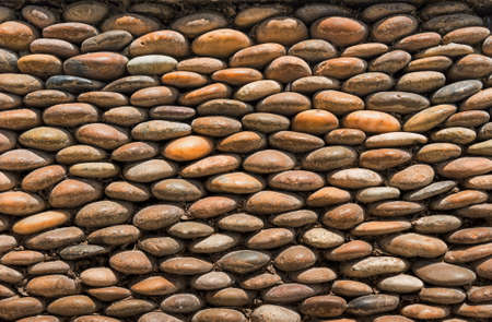 Background texture of stone wall stacking layer