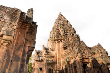 rung: Ancient remains Phanom Rung Historical Park.The one of Thailands most amazing Khmer architecture site, aged over a thousand years old.