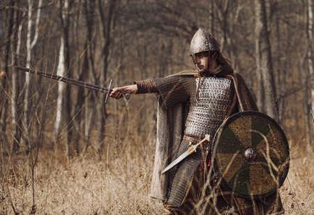 chain armour: Warriors