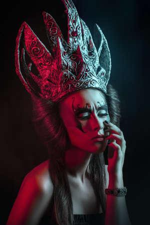 Dark queen photo