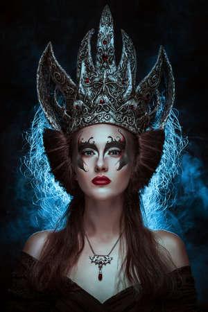 Dark queen 스톡 콘텐츠