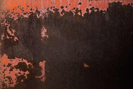 Rust closeup texture background. Stock Photo