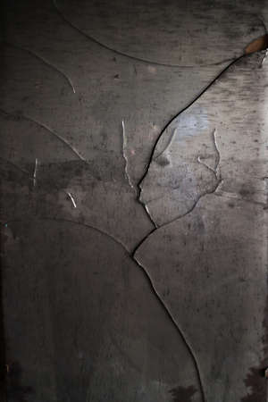 reflection mirror: Broken shattered mirror