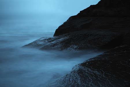 Dark sea landscape