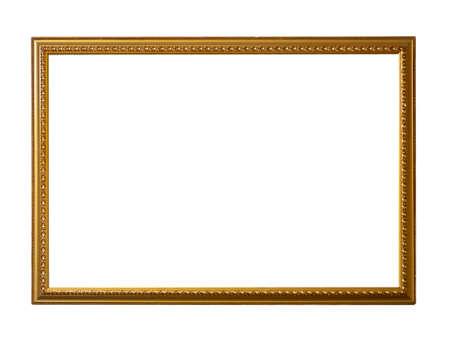 Golden vintage frame for painting or mirror