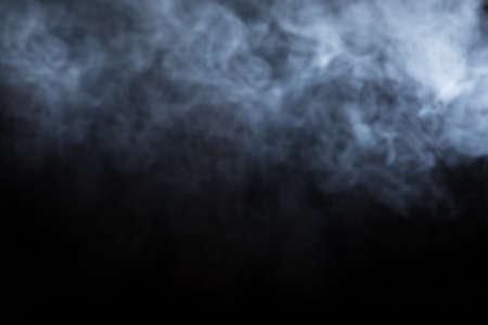 Abstract Smoke on black Background Stok Fotoğraf