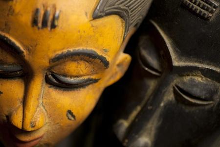 arte africano: M�scaras tribales africanos