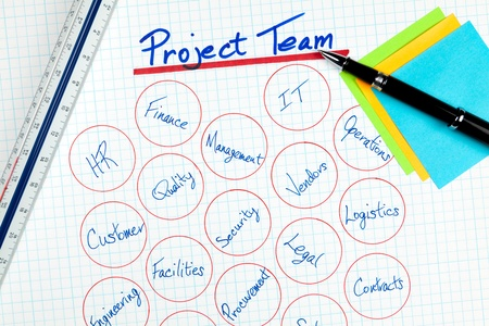 project management: Business Project Management Team Participants