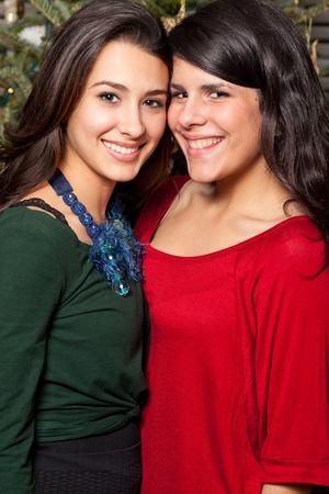 Mooie jonge vrouwen vakantie levens stijl Stockfoto