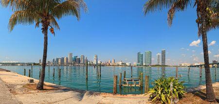 miami: Downtown Miami Skyline Panorama