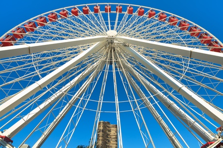 Navy Pier Ferris Wheel Chicago photo