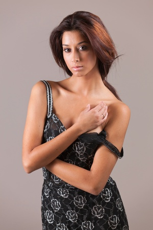 Beautiful and sexy young multicultural woman Stock Photo - 11095351