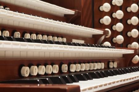 Nahaufnahme einer Kirche Orgel Standard-Bild - 11511582