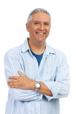 50s man: Handsome middle age man Stock Photo