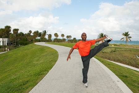 Handsome Personal Trainer in Miami Beach photo