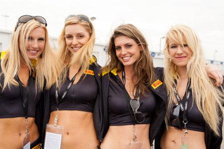 pirelli: Beautiful Pirelli Model Girls at the 24 Hours of Daytona