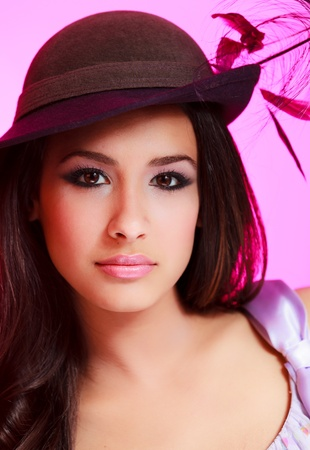 Beautiful young woman photo