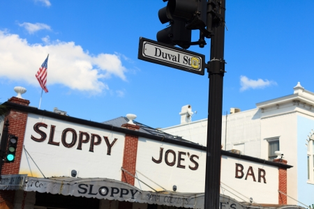 sloppy: Famous Sloppy Joe Bar in Key West, Florida