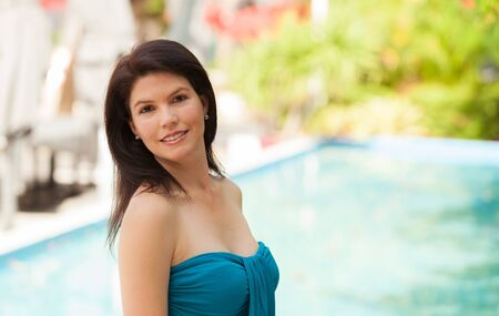 Beautiful woman outdoor portrait. Stock Photo - 14738524