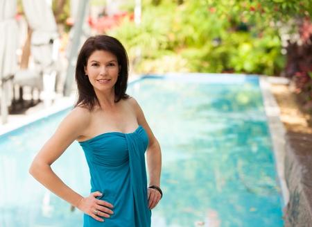Beautiful woman outdoor portrait. Stock Photo - 14743093