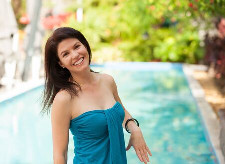 Beautiful woman outdoor portrait. Stock Photo - 14743112