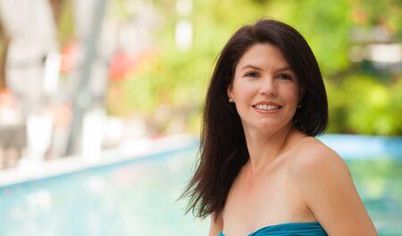 Beautiful woman outdoor portrait. Stock Photo - 14738526