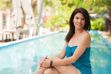 Beautiful woman outdoor portrait. Stock Photo - 14743101