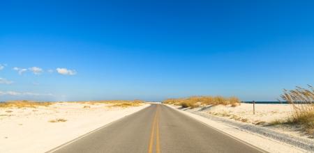 Beautiful Perdido Beach in Pensacola, Florida. photo