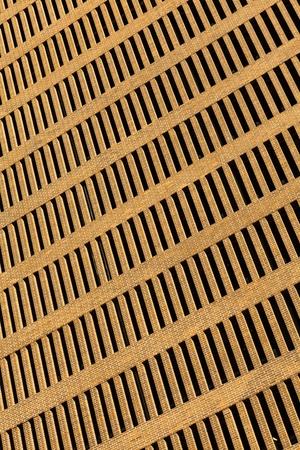 Abstract view of a brick facade downtown skyscraper  photo